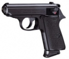 Airsoftgun Walther PPK/S bicolor 6 mm Feder-Softairpistole