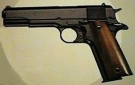 Modell Government 1911 A1 br�niert-Holz Gaspistole