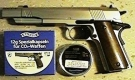 Colt Government 1911 Match vernickelt 4,5 mm CO2-Pistole