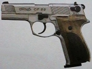 Walther CP 88 vernickelt 4,5 mm CO2-Pistole